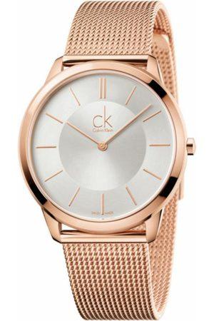 Calvin Klein Minimal K3M21626 Reloj Unisex Color Oro Rosado