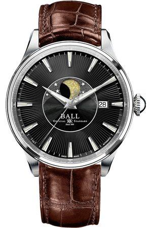Reloj unisex Ball Trainmaster NM3082D-FJ-BK café