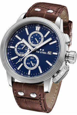 Reloj para caballero Tw Steel Adesso CE7009 café