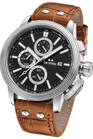 Reloj para caballero Tw Steel Adesso CE7004 café claro