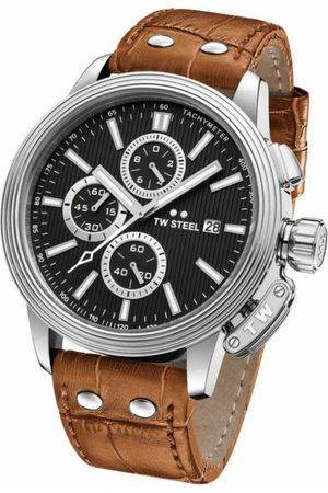 Reloj para caballero Tw Steel Adesso CE7003 café claro
