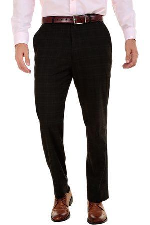 Pantalón de vestir a cuadros Sansabelt corte regular fit