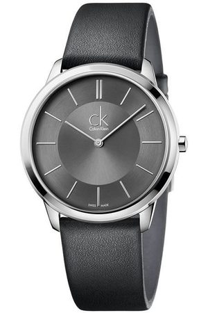 Calvin Klein Minimal K3M211C4 Reloj Unisex Color Negro