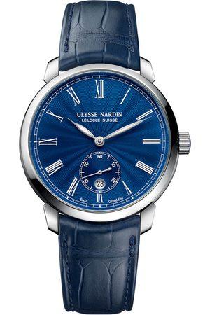 Reloj para caballero Ulysse Nardin Classico 3203-136-2/E3 azul marino