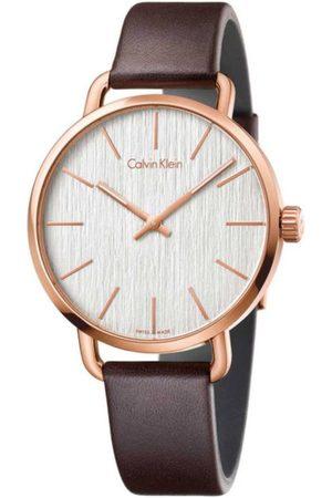 Calvin Klein Even K7B216G6 Reloj Unisex Color Café