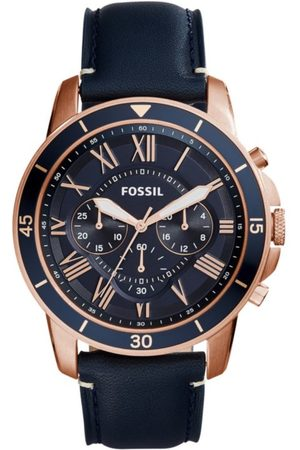 Fossil Grant Sport FS5237 Reloj para Caballero Color Azul Marino