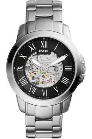 Fossil Grant ME3103 Reloj para Caballero Color Plata