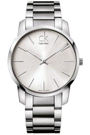 Calvin Klein City K2G21126 Reloj para Caballero Color Acero