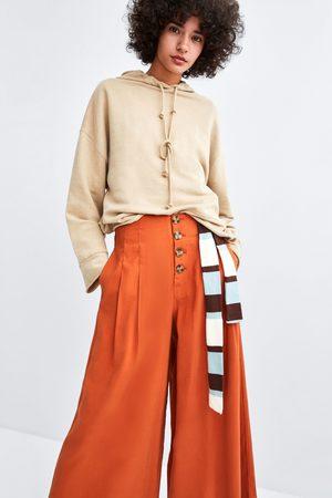 Pantalones O Zara Compra Pesqueros Online Mujer De Fashiola Capri Pw5tqt