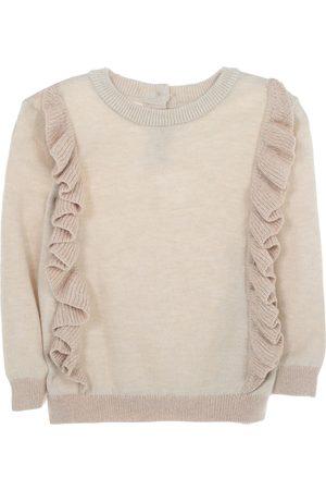 Suéter jaspeado Mon Caramel algodón para bebé