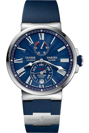 Reloj para caballero Ulysse Nardin Marine 1133-210-3/E3 azul