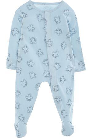 Mameluco con diseño gráfico Mon Caramel algodón para bebé