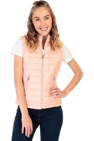 Baratas  Chalecos de mujer color rosa en ofertas   06c2fb51ead93