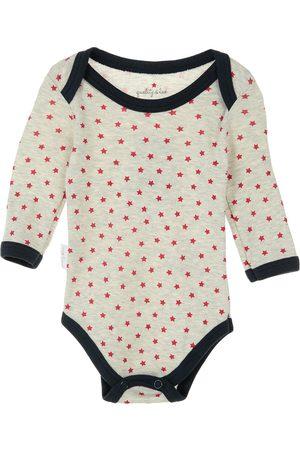 Pañalero con diseño gráfico Quality & Love de algodón para bebé