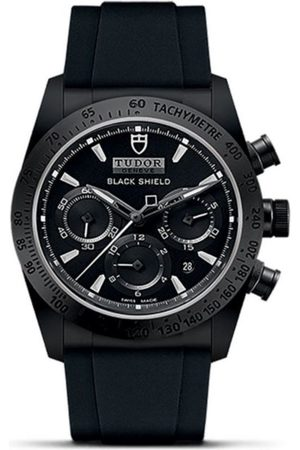 Tudor Fastrider Black Shield M42000CN-0005 Reloj para Caballero Color Negro