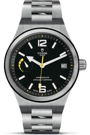 Tudor North Flag M91210N-0001 Reloj para Caballero Color Acero