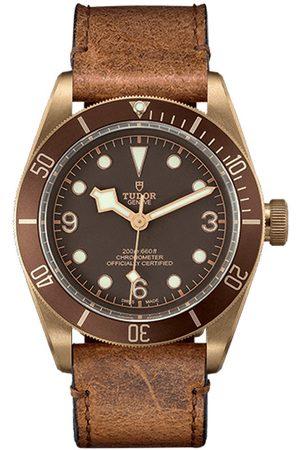 Reloj para caballero Tudor Heritage Black Bay M79250BM-0001 café