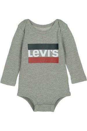 Pañalero jaspeado Levi's algodón para bebé