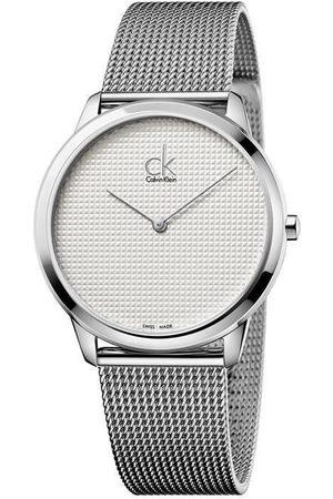Relojes - Calvin Klein Minimal K3M2112Y Reloj Unisex Color Acero