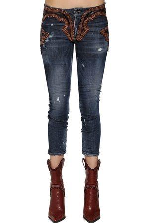 Dsquared2 Jeans Cool Girl De Piel Y Denim