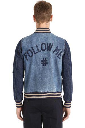 """PORTS 1961 Chaqueta Bomber """"follow Me"""" De Denim"""