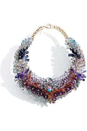 KEN SAMUDIO Collar De Plástico Con Cristales Swarovski