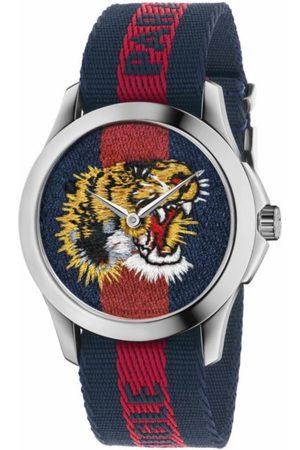 Reloj unisex Gucci G Timeless YA126495 azul/rojo