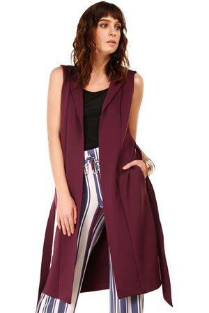 Compra Chalecos de mujer color vino online  dcb9b2f502515