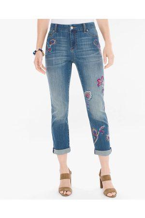 Jeans Chico's corte straight