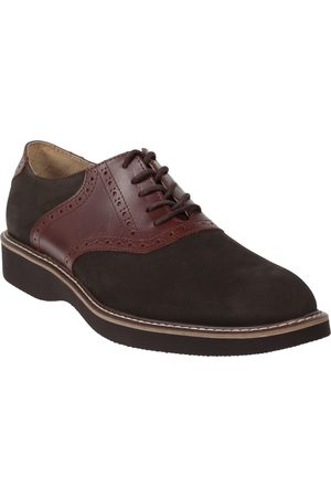 Zapato derby JBE piel café oscuro