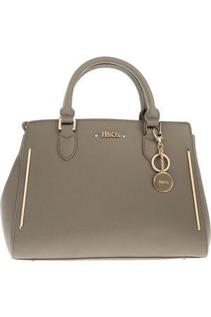 Bolsa satchel saffiano H&CO