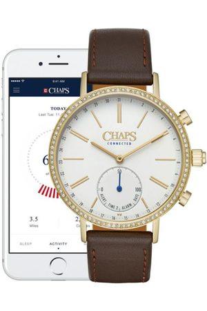Smartwatch Híbrido para dama Chaps Sam CHPT3102 café