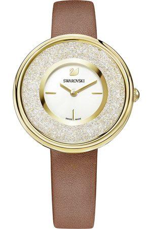 Reloj para dama Swarovski Crystalline Pure 5275040 café