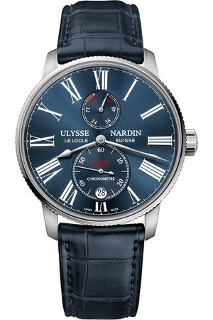 Reloj para caballero Ulysse Nardin Marine Torpilleur 1183-310/43 azul marino