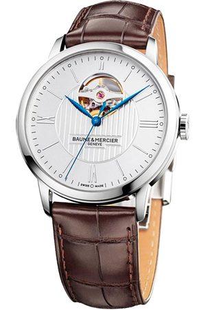 Reloj para caballero Baume & Mercier Classima M0A10274 café obscuro