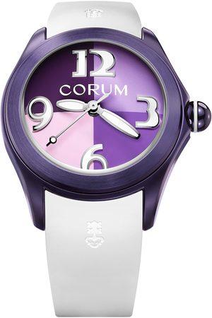 Reloj para dama Corum Bubble 082413980379QU01 blanco