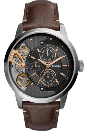 Fossil Townsman ME1163 Reloj para Caballero Color Café Obscuro
