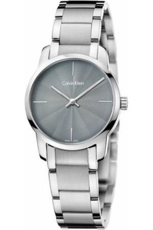 Reloj para dama Calvin Klein City K2G23144 plata