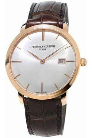 Reloj para caballero Frederique Constant Slimline FC-306V4S9 café
