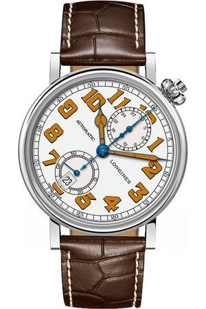 Reloj para caballero Longines Heritage L28124232 marrón