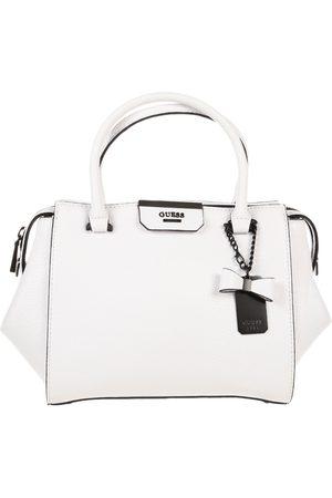 Bolsa satchel lisa Guess blanca