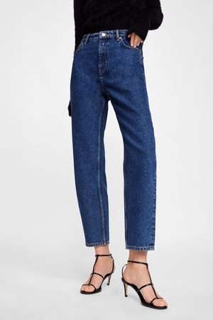 Zara JEANS NEW MOM STONE BLUE