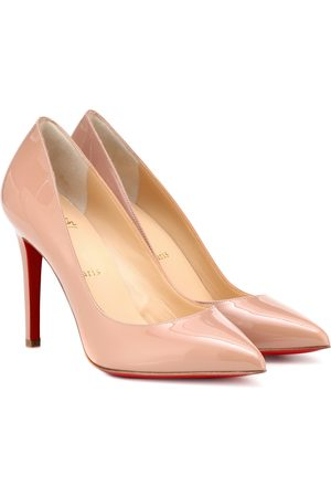 Christian Louboutin Pigalle 100 patent leather pumps