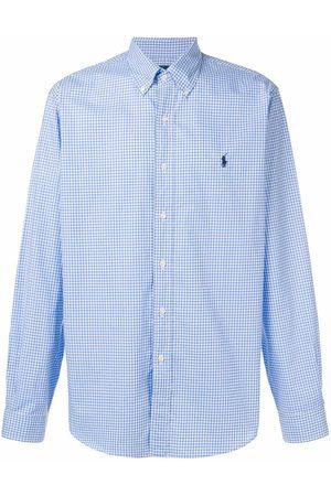 Ralph Lauren Camisa a cuadros con botones