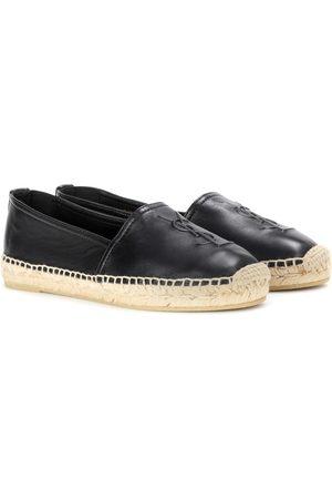Saint Laurent Leather slip-on loafers