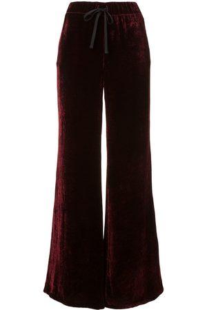 Unravel Project Pantalones anchos de terciopelo