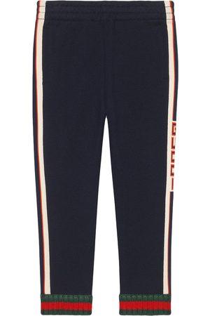 Gucci Pantalones con ribete Gucci de jacquard