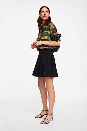 11daf28c7 Mujer Faldas Al Y Plisada De Compra Mejor ¡compara Corta Zara Ahora  rzn5rW0qw
