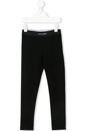 Dolce & Gabbana Leggins con cinturilla con logo