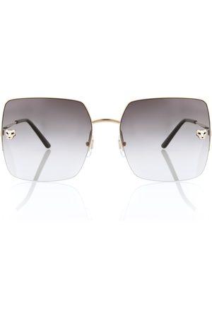 CARTIER EYEWEAR Panthère de Cartier sunglasses